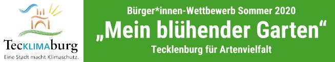 """Bürger*innen-Wettbewerb """"Mein blühender Garten"""""""