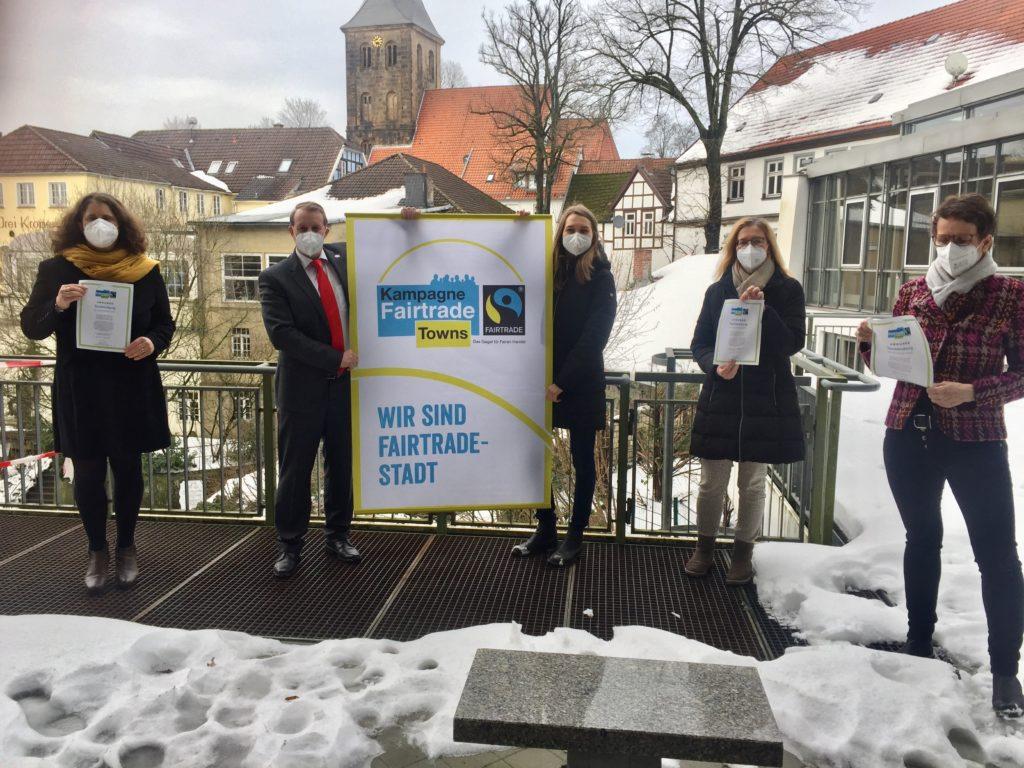Tecklenburg als Fairtrade-Town ausgezeichnet