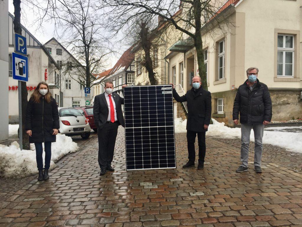 Kooperation zwischen Stadt Tecklenburg und den Stadtwerken Lengerich
